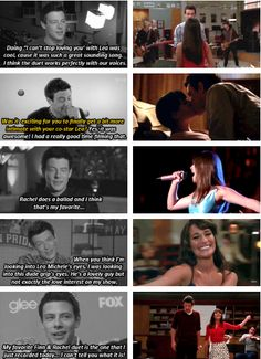 Cory Monteith on scenes with Lea