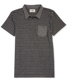 Billabong Mens' Stripe Pocket Polo
