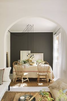 My Country Living Decor, Ideal Home, House, Interior, Home, Boho House, Cool Rooms, Dinner Room, Interior Design