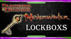 Neverwinter 22 Random Lockboxes Opened - 1
