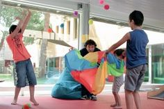 od602_sit Baby Gym, Classroom, School, Kids, Parachutes, Polyester, Animation, Sports, Parachute Games