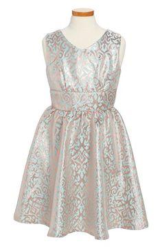 Pippa & Julie Metallic Brocade Dress (Big Girls) available at #Nordstrom