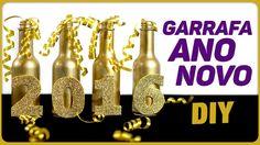 Garrafa para o Ano Novo =DiY