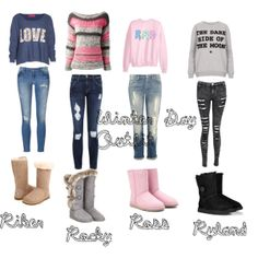 """""""Winter Day outfit"""" by callie-corbin on Polyvore"""