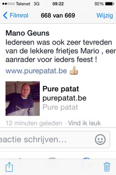 Pure patat Mario