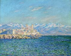 Antibes, Afternoon Effect, 1888 - Claude Monet