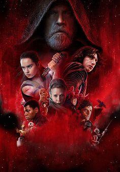 Star Wars: Episode VIII - Les Derniers Jedi / Star Wars: Episode VIII - The Last Jedi / Star Wars: Episode VIII - Die letzten Jedi (2017) - Gif