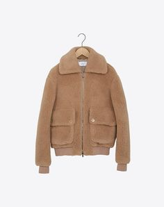 Carven Teddy Bear Coat Autumn Fall 2015 Jacket