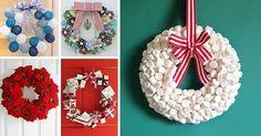 11 Guirlandas de Natal Para Fazer em Casa - Criativas e LINDAS!