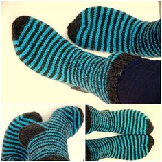 Sokker til meg Socks, Knitting, Threading, Tricot, Breien, Knitting And Crocheting, Crochet, Ankle Socks, Cable Knitting