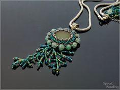 Spirala beading: Under the Sea Pendant Design, Under The Sea, Turquoise Bracelet, Pendant Necklace, Beads, Bracelets, Etsy, Jewelry, Beading