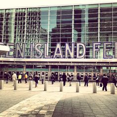 Staten Island Ferry - Whitehall Terminal in New York, NY