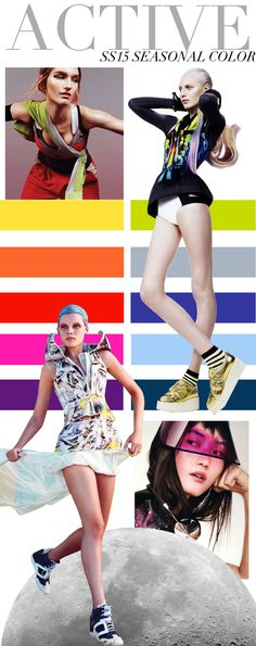TREND COUNCIL ACTIVE SS15 SEASONAL COLOR
