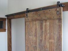 This is exactly what I have in mind for the basement reno to create a separate storage area using the barn board that is currently all over the walls!