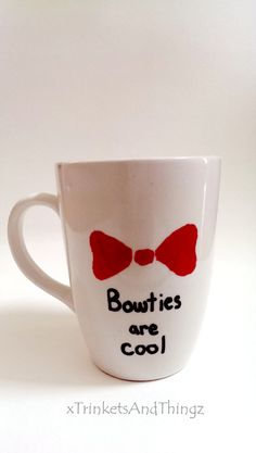 Bow Ties are cool mug doctor who mug doctor by xTrinketsAndThingz, $8.00