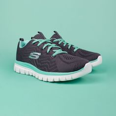 """Wynsors Shoes on Instagram  """"Easily transition from the  gym to all day   comfort wear with the  SKECHERS Graceful - Get Connected shoe. 16f340a01eea"""