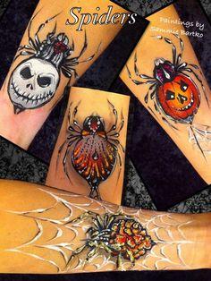 Body painting by Sammie Bartko