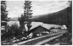Trysil, ved Sen-sjøen. 1930-tallet. Foto: Normann