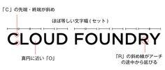 Cloud Foundryのロゴ分析 Cloud Foundry, Clouds, Math Equations, Cloud