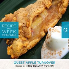 The delicious treat minus the guilt! Try this easy to make Quest Nutrition Apple Turnover recipe by Allie A. that will have your taste buds dancing. What you will need: 1 Apple Pie Quest Bar…