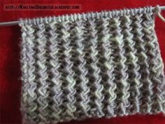 Zig Zag Rib Stitch. SIMILAR: Twisted Rib Openwork Stitch. ~~ Stitches are knit through the back loop and create an interesting zigzag effect of twisted stockinette ribs. ~~ Cast on a multiple of 3 sts, + 1. ~ Row 1 (RS): Purl 1, * Knit tbl second stitch, then knit first stitch, and drop them both at the same time, purl 1; rep from * to end. ~~ Row 2: Knit 1, * purl second stitch, then purl first stitch, and drop them both at the same time, knit 1; repeat from * to end. ~~ Repeat these 2…
