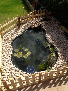 Backyard Ducks, Ponds Backyard, Backyard Landscaping, Pond Design, Garden Design, Outdoor Tortoise Enclosure, Turtle Enclosure, Turtle Homes, Turtle Habitat