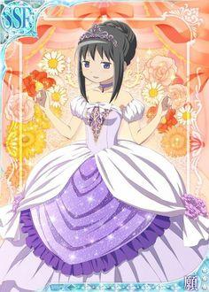 Mobage 〖 Puella Magi Madoka Magica Mahou Shoujo Maho Shojo Homura Akemi Cinderella fairy tales pretty 〗