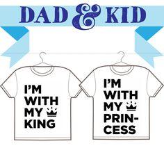 Per le principessine e i loro papà: http://www.eshirt.it/t-shirt/idee-magliette/festa-del-papa-magliette