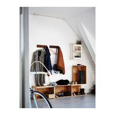 IKEA PS 2014 Moduł do przechowywania - bambus/ciemnoczerwony - IKEA