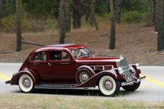 1933 Pierce-Arrow Silver Arrow - (Pierce-Arrow Motor Car Company Buffalo, New York 1901-1938)