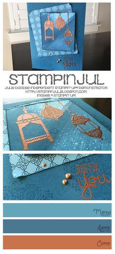 Stampinjul-Julie Davidse Stampin' Up! Demonstrator: We Create Blog Hop--It's Here!