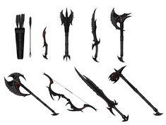 Skyrim Daedric Weapons Locations | The Daedric Weapons