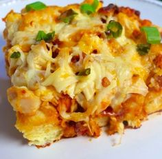 Best Ever Barbecue Chicken Bubble-Up Bake - Recipe, Delicious, Grilling, Kid Friendly, Main Dish