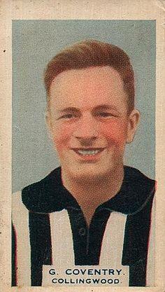 Gordon Coventry Footy Card