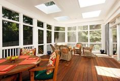 inside outside porch - Google Search