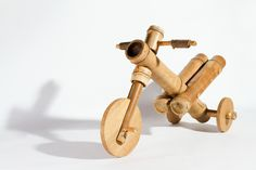 bamboo tricycle by a21 studio teaches kids to be nature considerate - designboom…