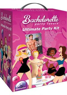 Novelties - Party & Fun - Serving Ware - Bachelorette Party Favors Ultimate Party Kit  #sextoys #sextoysshop #Games #Novelties #extras #Couples #Pleasure #Party #Fun #playing #cards #Bongage #Body #Fetish #Sex #Toys ... For more information visit: www.sextoysshop.com