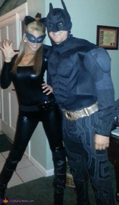 Catwoman and Batman - 2012 Halloween Costume Contest