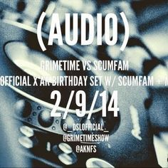 Knowledge Is Power Promotions: @Aknfs Birthday Set Ft Scumfam, @DubzySnazz @BigIn...
