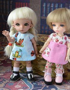 Платьица для пукифишек / Одежда и обувь для кукол - своими руками и не только / Бэйбики. Куклы фото. Одежда для кукол