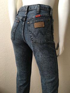 Vintage Women's 80's Wrangler Jeans Acid Wash by Freshandswanky