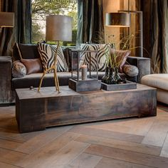 Duran Lighting and Interiors || Boga Coffee Table || Available in Old Bronze, Zinc and Brass || http://www.duran.nl/product/boga-salontafel/