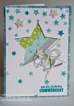 Les Ateliers de Val: Carte étoile de Noël                                                                                                                                                                                 Plus