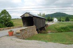 Covered bridge in Goddard, KY
