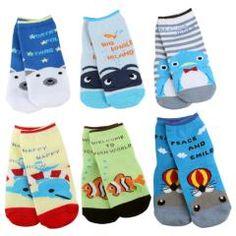 Boy Baby Toddler Infant Anti-slip Socks