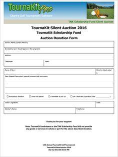 silent art auction bid sheet