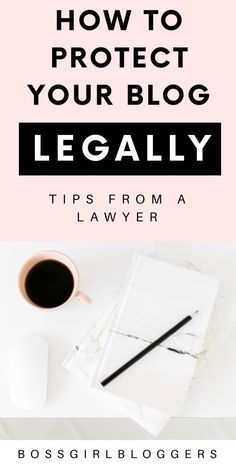Tips from a lawyer. Internet, Blog Planner, How To Protect Yourself, Online Entrepreneur, Education Quotes, Blogging For Beginners, Make Money Blogging, Blog Tips, Business Tips