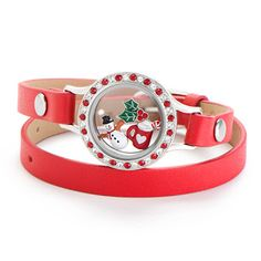Origami Owl With Meka: Candy Cane Wishes Living Locket and Bracelet