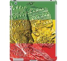 'Haile Selassie Menelik Kings of Kings Ethiopia' iPad Case/Skin by rastaseed