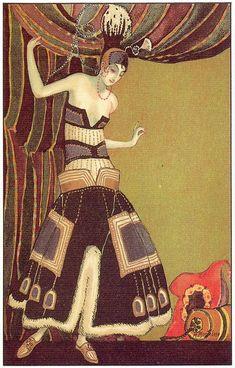 Inspirational Imagery: M. Montedoro Art Deco Postcards